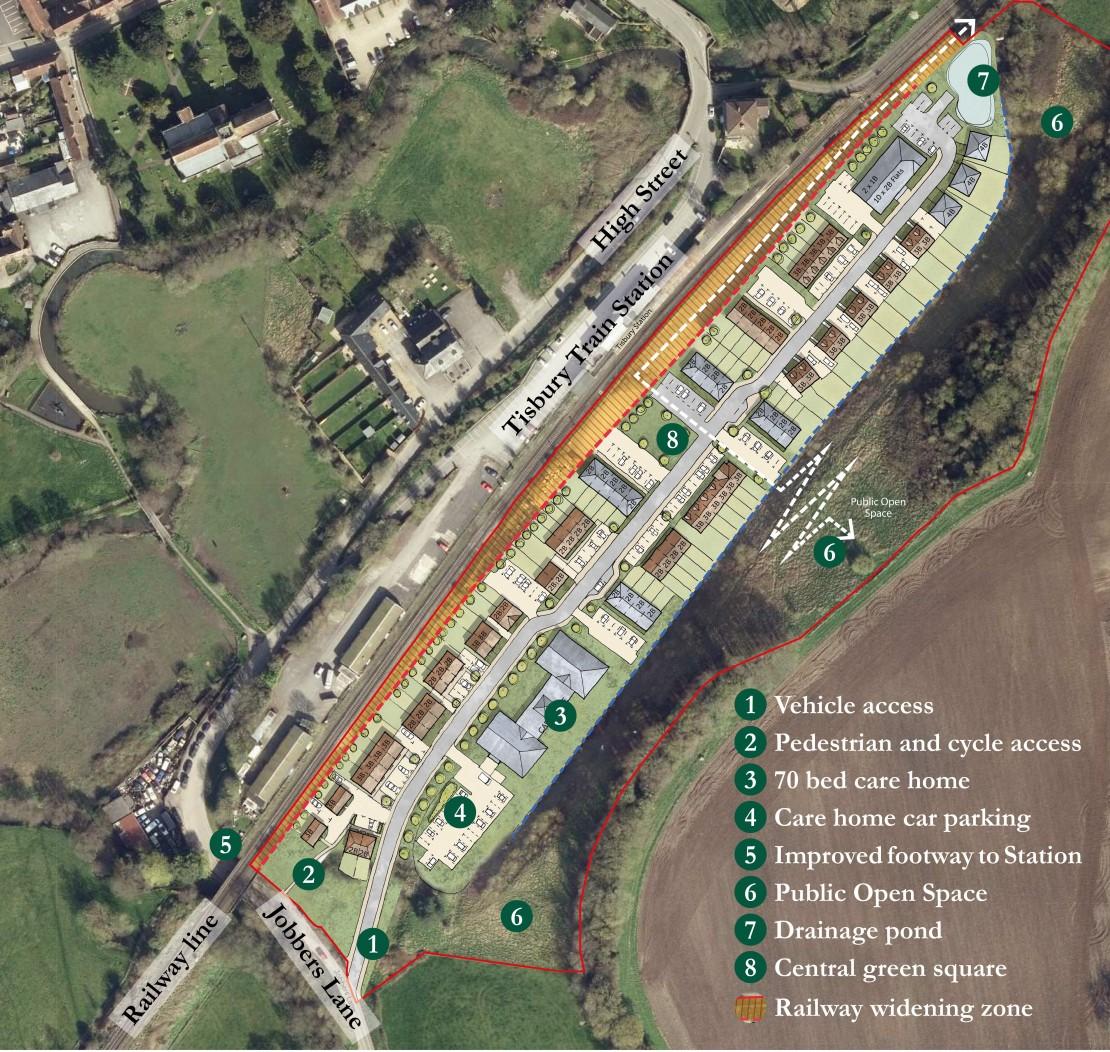 Static Site Plan